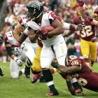 After being among the leaders in rushing attempts each of the past four seasons, Michael Turner has been averaging just 14 carries this year and is not expected to break the 1,000-yard mark this season. Turner is set to earn $5.5 million next year, something the Falcons may not want to pay a soon-to-be-31 running back.