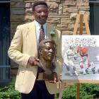Former defensive end Lee Roy Selmon, the Bucs' first draft pick ever and a six-time Pro Bowl selection, becomes the franchise's first player to be inducted into the Pro Football Hall of Fame in Canton, Ohio.
