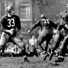 Washington stuns the unbeaten Chicago Bears 14-6 in the NFL Championship Game. The Bears had outscored their opponents by an NFL-record 26 points per game but Sammy Baugh's 38-yard TD pass to Wilbur Moore and end zone interception (one of four Bears turnovers) helped the Redskins pull the upset.