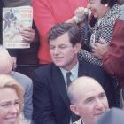 Yaz's amazing season brought out some of Boston's most famous residents to Fenway Park, including 35-year-old Ted Kennedy.