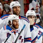 """""""Gary bettman's autobiography is in stores now. It's titled 'how I destroyed a sport and a nation'"""" -- Ex-Rangers winger Prust via Twitter (@BrandonPrust8)  """"'M-I-C-K-E-Y M-O-U-S-E' - The 3 other Major Sports"""" -- Rangers center Rupp via Twitter (@Rupper17) on what the other leagues think of the NHL now (a reference to Wayne Gretzky's famous remark about the then-hapless New Jersey Devils organization)"""