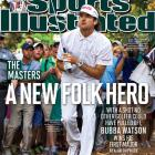 With the Augusta crowd on his side, Bubba Watson hit a memorable shot from the woods on the second playoff hole, setting him up for a par and a win over Louis Oosthuizen at the Masters. It was Watson's first green jacket and first Grand Slam title.