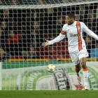 """During a Champions League game in November, Shakhtar Donetsk forward Luiz Adriano violated age-old soccer etiquette by scoring an uncontested goal against Nordsjaelland. after a drop ball. The Brazilian forward shot into an empty net following a stoppage in play when a Nordsjaelland player was injured. He was later charged by UEFA based on Article 5 of its disciplinary regulations. It includes clauses on conduct which is """"insulting or otherwise violates the basic rules of decent,'' and which """"brings the sport of football, and UEFA in particular, into disrepute.'' UEFA suspended Adriano for one game."""