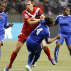 """While it was a memorable 4-3 semifinal victory for the U.S. women's Olympic soccer team, defeated Canadian captain Christine Sinclair claimed that the match was a fraud. Sinclair said that the referee had """"decided the result before the game started"""" and, months later, still says that she does not regret making that statement."""