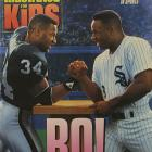 Jackson stars on the cover of a 1992 issue of  Sports Illustrated For Kids .