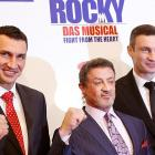 The world premiere of Sylvester Stallone's  Rocky: The Musical  took place Sunday at the Operettenhaus in Hamburg, Germany. Stallone teamed with heavyweight champions Vitali and Wladimir Klitschko to bring his classic 1976 film to the stage. The all-singing, all-dancing play is expected to transfer to Broadway in 2013.