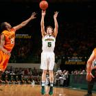 The Boston College transfer stepped into Baylor's starting lineup last season and shot 45.5 percent from three and 92.1 percent from the free-throw line. Heslip had 12 games (of 38 played) in which he made at least four threes.