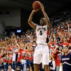 Bell made 47.7 percent of his threes as a freshman and -- according to Synergy Sports' logs -- averaged 1.321 points per possession on all of his jump shots. That put him in elite territory, and he's expected to stay there as long as defenses keep keying on teammates Elias Harris and Kevin Pangos.
