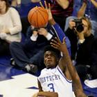 The 6-10 freshman is being hailed as the best shot-blocker to arrive in college basketball since, well, Anthony Davis, who led the Wildcats to a national title in March. Noel is not even close to Davis' level as an all-around player -- he might not even be an all-SEC first-teamer -- but he should change enough shots to keep UK's defense elite.