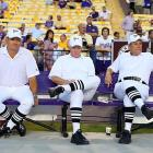 The excitement is clearly mounting at Tiger Stadium in Baton Rouge...