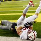 Welcome to a new installment of  Did You See That? , the college football edition. If you're a Cardinal fan, you were likely head over heels ... shouldn't it be  heels over head ? ... about your team's 17-14 overtime win that dashed Oregon's national title hopes.