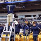 Pittsburgh's running back has a future as a conductor, even if it's only on Amtrak, after his Panthers defeated the Scarlet Knights of Rutgers, 27-6, at Heinz Field where visitors are always playing ketchup. Ahem.