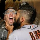 The romance of sports after the last out of the World Series.