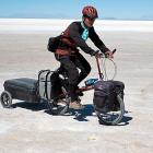 Bet you didn't know that the Salar de Uyuni in Bolivia is the world's biggest salt flat (7,456 square miles) and probably not the most pleasant place for a bike ride.