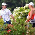 Romance in bloom at the Barclays Singapore Open.