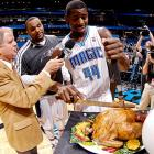 The rookie forward demonstrates how he (career-high 15 points) and his Magic mates carved up the hapless Detroit Pistons, 90-74, at Amway Center in Orlando as Thanksgiving loomed.