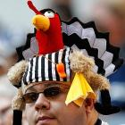 Honoring the memory of the NFL's replacement refs on Thanksgiving Day at Cowboys Stadium. You too can view a gallery of this year's biggest turkeys in sports by   CLICKING HERE  .