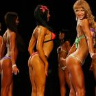 Getting to the bottom of it all in the bikini fitness competition in Krasnoyarsk.