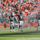 The sprinklers at Sun Life Stadium enhanced the aquatic theme of the Seahawks-Dolphins match-up by going off during the game, which was won by the Fish, 24-21.