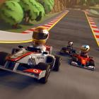 """F1 Race Stars is a good example of a game in search of an audience. There's nothing inherently broken or awful about it, but the kart racing genre has several innovative, top-tier franchises - including this month's LittleBigPlanet Karting, so it's difficult to understand the audience for whom this game is intended. In F1 Race Stars, players assume the personality of one of a sizable group of real-life F1 drivers (and a couple of fictitious ones) rendered in bobblehead form with race karts styled after F1 cars racing through versions of major F1 tracks that look like something out of """"It's a Small World"""" crossed with a Hot Wheels set. There's no drift mechanic to speak of - this is F1, so you'll be braking and following racing lines - and the ever-present power-ups are mostly pedestrian. There's online play, but the folks who will get the most enjoyment out of the game are the ones playing against friends on the same couch. That said, they'd almost definitely have more fun with one of the game's competitors. CodeMasters is known for creating some of the richest, most realistic racing simulations on the market, but this one just doesn't work. There's just not enough new here to make the game worthwhile.   Score: 5 out of 10"""