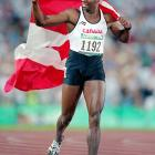 Donovan Bailey was one of the stars of the 1996 Atlanta Olympics, winning gold in the 100-meters and the 4x100 relay.