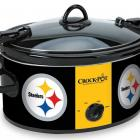 Whether it's for cooking chili or chicken, using a Crock-Pot has been a fixture of the holiday season. Now you can show off your NFL team while you do so. $60 at   crock-pot.com