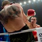 WBA, IBF and WBO heavyweight boxing world champion Wladimir Klitschko defended his title against Mariusz Wach of Poland in Hamburg, Germany.