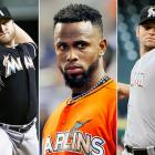 Just one year after opening a brand new stadium and spending over $150 million in the offseason, the Miami Marlins commenced yet another fire sale, unloading star shortstop Jose Reyes and pitchers Josh Johnson and Mark Buehrle in return for shortstops Yunel Escobar and Adieny Hechavarria along with right hander Henderson Alvarez and several other prospects. Reyes and Buehrle played only one year for the Marlins despite signing expensive multiyear deals, and local fans were outraged because the $2.4 billion stadium project was publicly funded. The Marlins have just two players from the 2012 Opening Day lineup remaining -- Giancarlo Stanton and Logan Morrison.