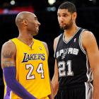 """Kobe Bryant, Tim Duncan: """"... So then Bynum just didn't join the huddles for months and Brown had no idea what to do."""""""