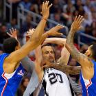"""Manu Ginobili: """"The spider heard I swatted a bat and he's come for revenge."""""""