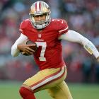 The first time the 49ers faced the Rams, Kaepernick entered in relief of Alex Smith. He was held in check in the passing game (11-of-17 for 117 yards), but ran wild on the ground (eight carries, 66 yards, one touchdown). Taking first team reps in practice for the third straight week will make a big difference in his passing numbers against a defense that let Arizona's Ryan Lindley throw for 312 yards last week.