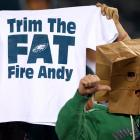 The Eagles lost another game on Monday night, dropping their record to 3-8 after a 30-22 loss to the Panthers. It's been a brutal season for the Eagles and the fans in Philadelphia have not been shy in expressing their displeasure. Here is a look at some angry Philadelphia fans giving their two cents on the team's miserable performance.