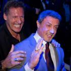 Sylvester Stallone and Wladimir Klitschko