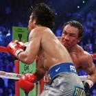 Pacquiao was down in the third round and Marquez was down in the fifth, before the Mexican ended it on his own terms in the dramatic sixth.