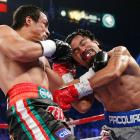Juan Manuel Marquez scored a devastating knockout of Manny Pacquiao -- at the 2:59 mark of the sixth round.