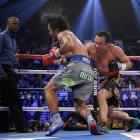 A sellout crowd of 16,348 turned out for Saturday's fight, generating a live gate of $10.5 million.
