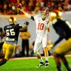 Golson's score did little to stop the Alabama rout as AJ McCarron continued to attack Notre Dame through the air. McCarron finished the game with 264 yards passing and four touchdowns.