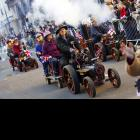 Traction engine enthusiasts -- surely there's one in your life -- blew off some steam in London on New Year's Day.