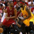 LeBron James wants to play Dwyane Wade in playoffs
