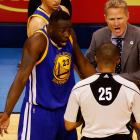 Draymond Green avoids suspension for groin kick