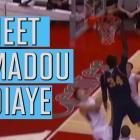 """Meet 7'6"""" NBA draft prospect Mamadou Ndiaye"""
