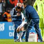 Lionel Messi leaves friendly with back injury