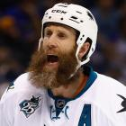 Joe Thornton on his beard: 'It looks pretty, but it's hard work'