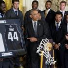 NCAA champion Villanova honored at the White House