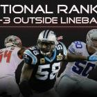 Positional Rankings: 4-3 outside linebackers