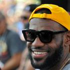 LeBron James took Larry O'Brien Trophy to dinner