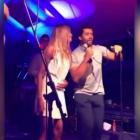 Russell Wilson shows off his 'vocals' signing Michael Jackson song