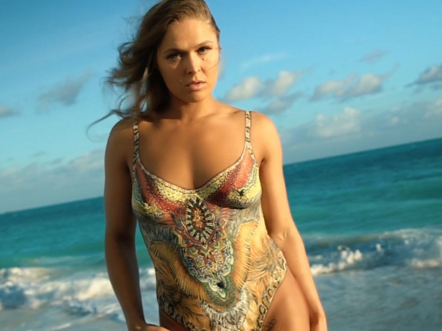 Si Swimsuit  Body Paint Unedited