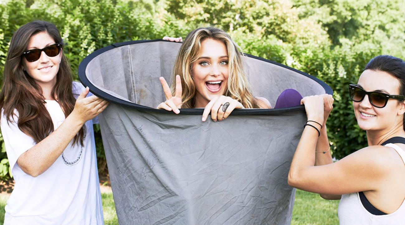 Behind the scenes with Hannah Davis at Blackberry Farm, SI Swimsuit 2015