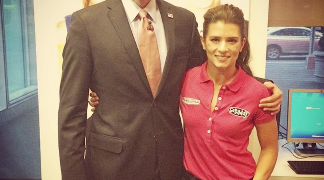 Instagram Down News: Wednesday. Swim: Danica Patrick's First Instagram Leaves